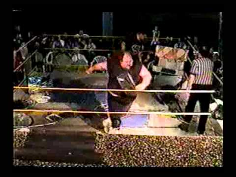 Insane Wrestling Alliance 1999 Jerry Blanchard has to wrestle Hal Lee to get to Twisted Sister