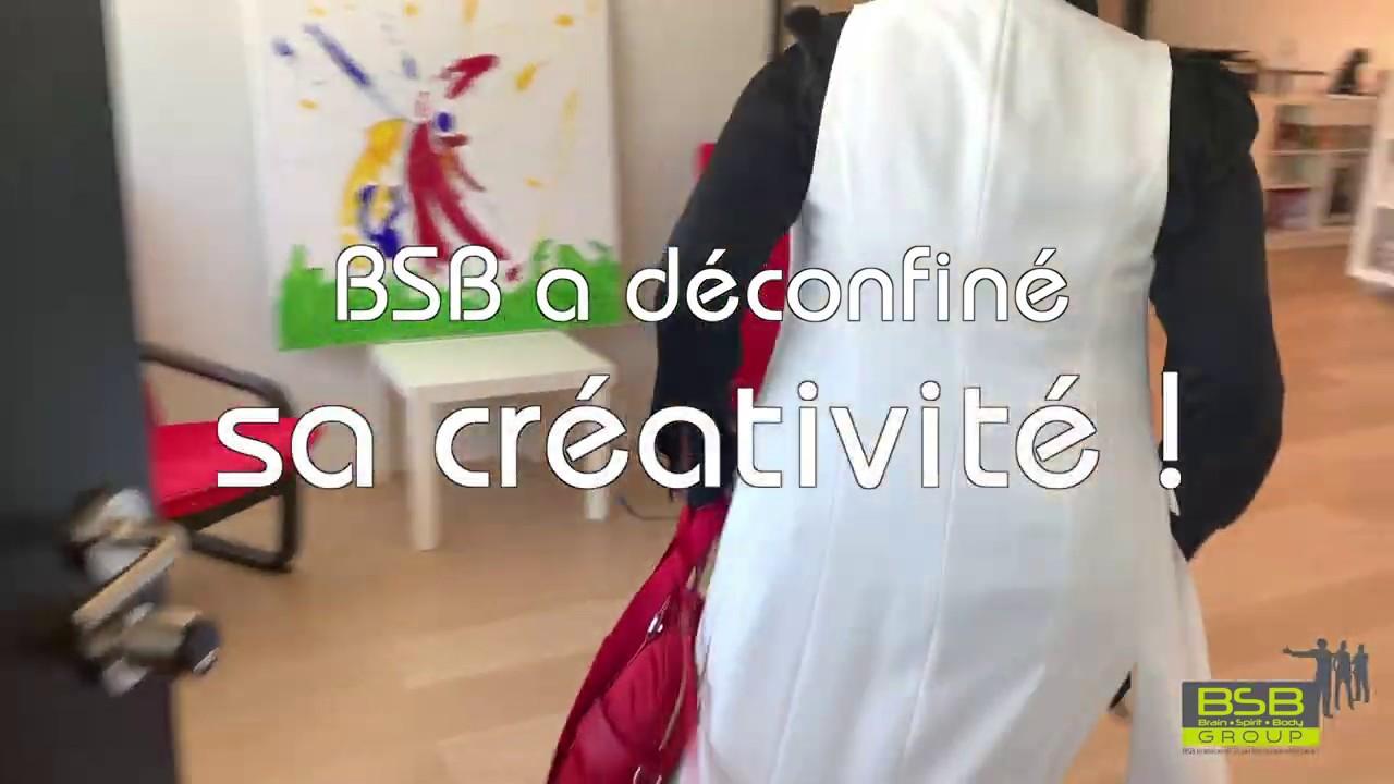 BSB a déconfiné sa créativité !
