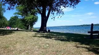 Wendisch-Rietz Scharmützelsee Video 1 Sonnenschein Strand Wasser Aussicht Urlaub