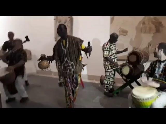 Inauguración de la sala África en el Museo Provincial de Lugo