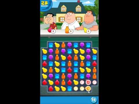 Family Guy Another Freakin Mobile Game Level 1 - NO BOOSTERS