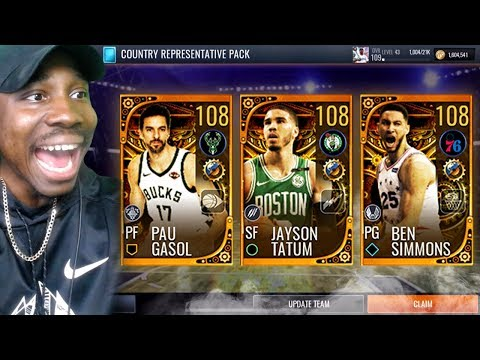 *NEW* AROUND THE WORLD PACK OPENING! NBA Live Mobile 19 Season 3 Ep. 136