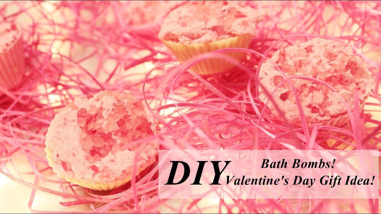 DIY! Bath Bombs! Valentines Day Gift Idea!