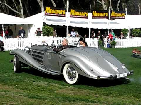 1937 Mercedes Benz 540K Spezial Roadster 1