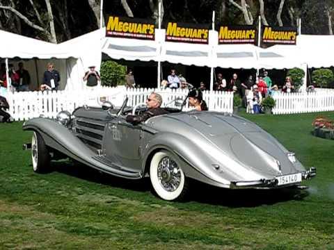 1937 Mercedes-Benz 540K Spezial Roadster -1