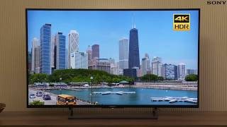 "Sony KDL55X8000E 55"" 4K HDR Smart LED TV 