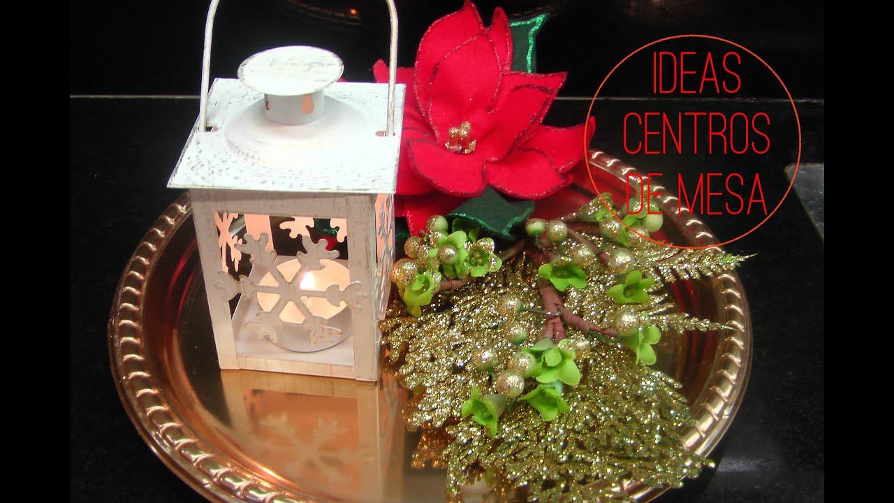 Arreglo floral para decorar la navidad centro de mesa - Mesas para navidad ...