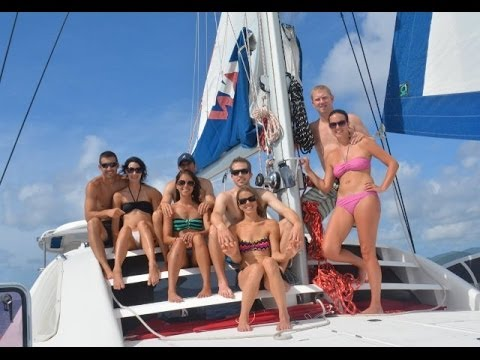 Sailing the BVI with 4 couples for 8 days 2013