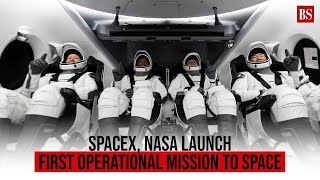Watch: SpaceX, Nasa launch first operational mission to space