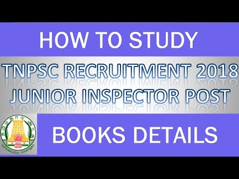 How to study for Junior Inspector of  Co-Operative Societies / Books Details