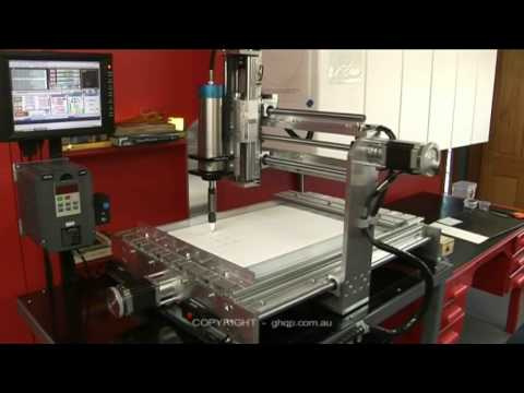 My First Home Built Cnc Router Ut1 Avi Youtube