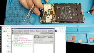 Скидання FRP Unlock FRP Xiaomi Redmi note 4 за допомогою MRT донгла
