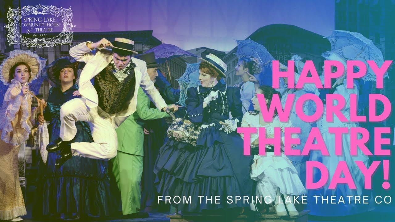 Happy World Theatre Day