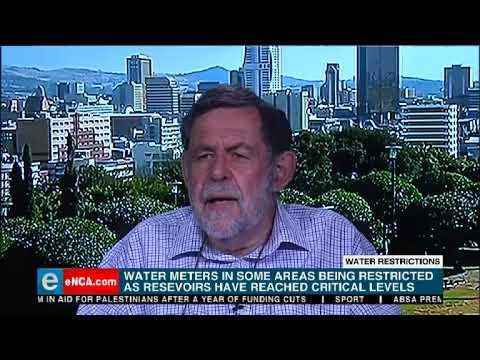 Water restrictions in Tshwane
