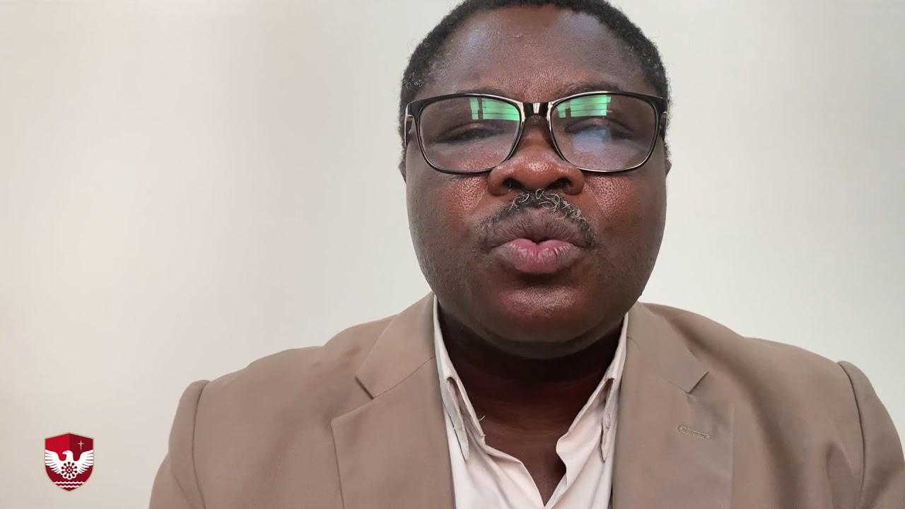 Download Emil Afenyo, Registrar of the Ghana Central University