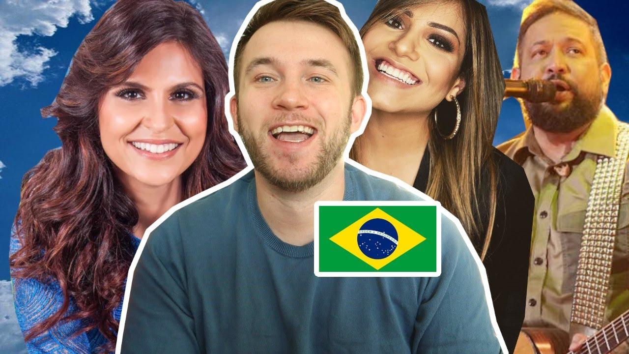 Gringo Reage à Música Gospel Brasileira! (Gabriela Rocha, Aline Barros, Fernandinho)