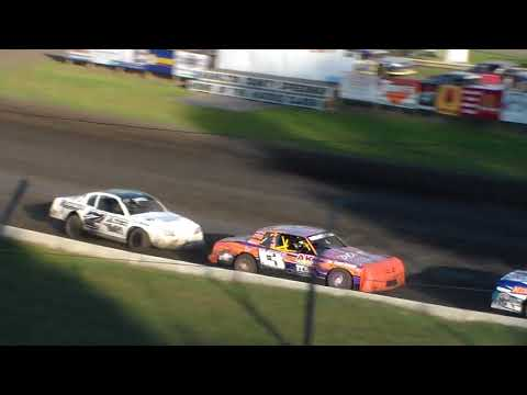 Stock Car Heat 1 @ Hamilton County Speedway 07/15/17