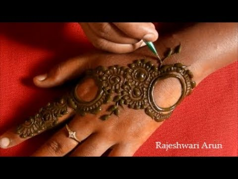 Latest Arabic Mehndi Design For Hands 2018 Simple New Henna