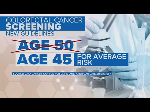 Colorectal Cancer Screenings Should Start At Age 45 New Guidelines Say Youtube
