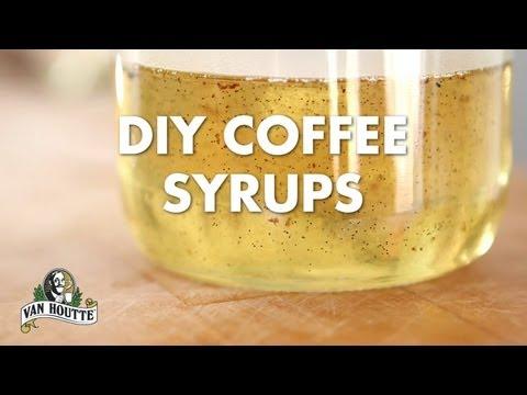 DIY Coffee Syrups