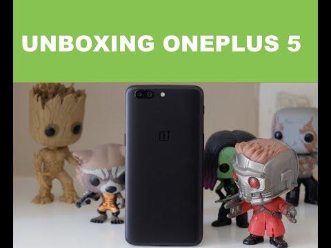 Unboxing OnePlus 5