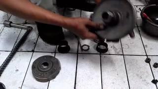 Cara Merakit Pulley CVT Belakang Honda Vario 125