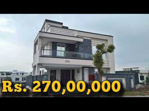 10 Marla Designer House For Sale in Overseas 3 Bahria Town Phase 8 Rawalpindi / Islamabad