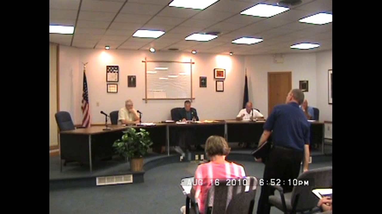 Rouses Point Village Board Meetin  8-16-10