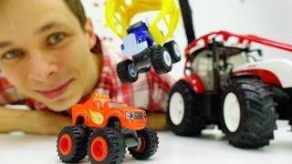 Видео про игрушки: Вспыш и чудо-машинки готовят сюрприз! Мультик про машинки(Видео про игрушки Вспыш и чудо-машинки. Мультик про машинки, которые решили сделать Федору сюрприз! Федор..., 2016-10-21T12:52:05.000Z)