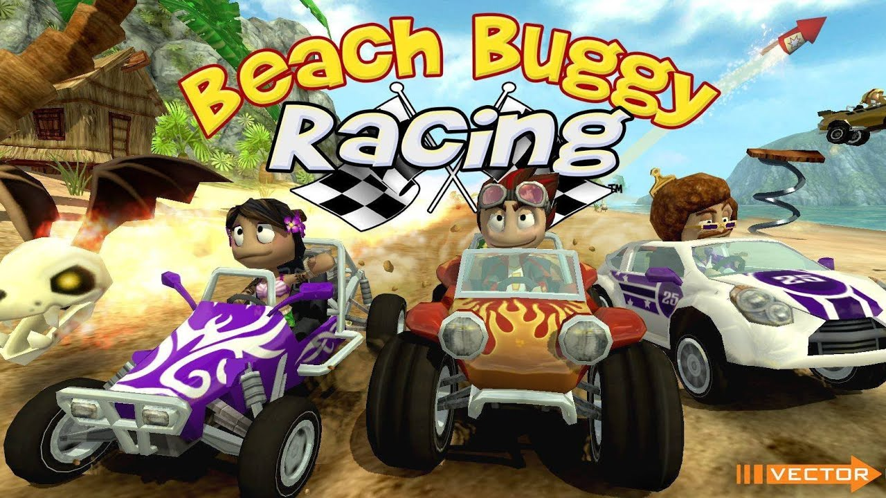 لعبة سباق الشواطئ : Beach Buggy Racing v1.2.9 مهكره جاهزه
