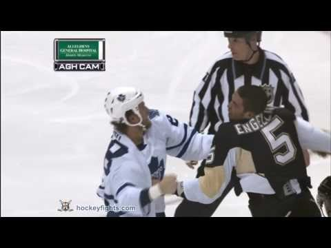 Colton Orr vs Deryk Engelland Oct 13, 2010