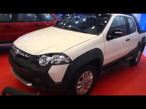 2014 Fiat Strada Adventure Locker 2014 al 2015 video versión