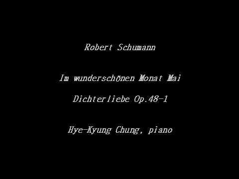 Im wunderschönen Monat Mai (Schumann - Dichterliebe Op 48 1) - Accompaniment