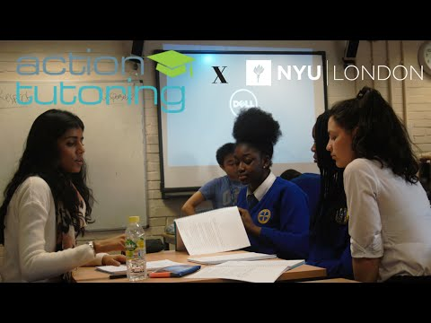 NYU London Volunteering: Simrat + Action Tutoring