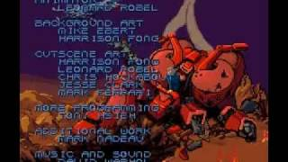 SNES - Metal warriors - Final boss + Ending
