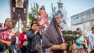 1ra Rendida de Culto de la Fiesta 2018 de Santa Lucía del Camino, Oax