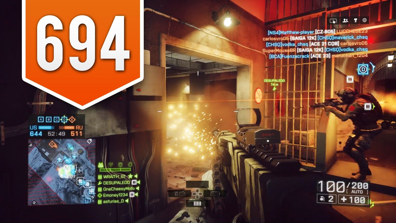 BATTLEFIELD 4 (PS4) - Road to Max Rank - Live Multiplayer Gameplay #694 -  WHAT GAMES SHOULD I PLAY?