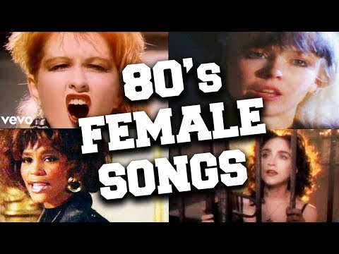 Top 100 Iconic 80s Female Songs