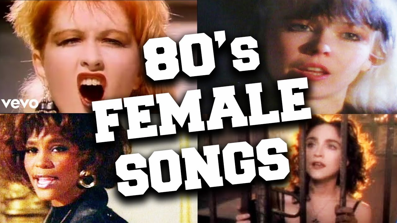 Top 100 Iconic 80s Female Songs - YouTube