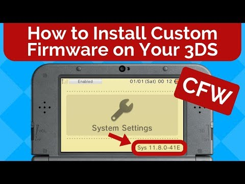 How to Install Custom Firmware on Your Nintendo 3DS