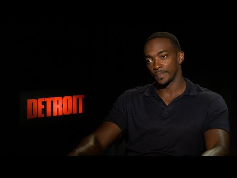 Interview with Anthony Mackie for Detroit