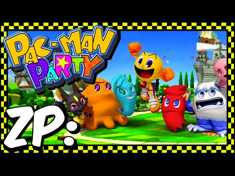 Zonic Plays: Pac-Man Party!