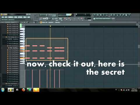 trance lead & dash berlin lead tutorial on flstudio 10