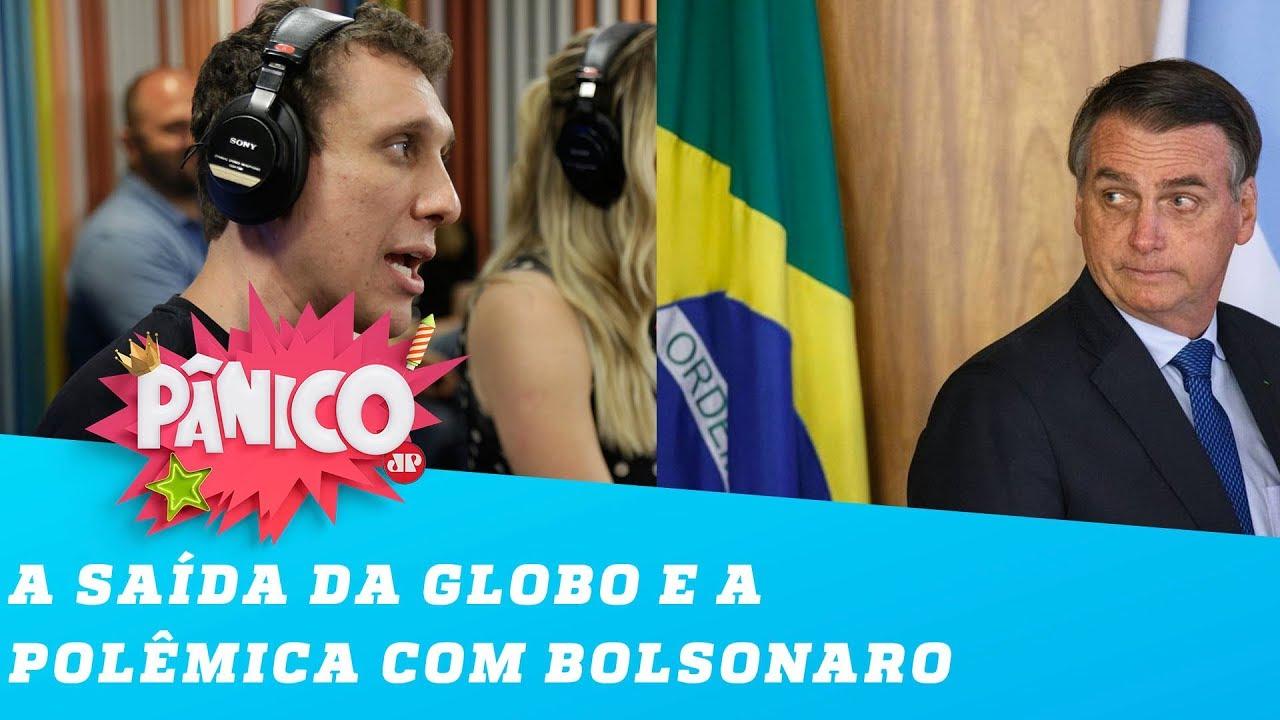 Samy Dana fala sobre SAÍDA da GLOBO e polêmica com BOLSONARO