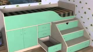 Детская кровать чердак Кузя 2 Киев(, 2013-11-19T16:00:58.000Z)