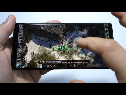 Icewind Dale: Enhanced Edition - Note 9 gameplay