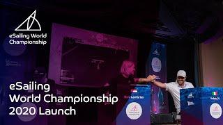 eSailing World Championship 2020 Launch