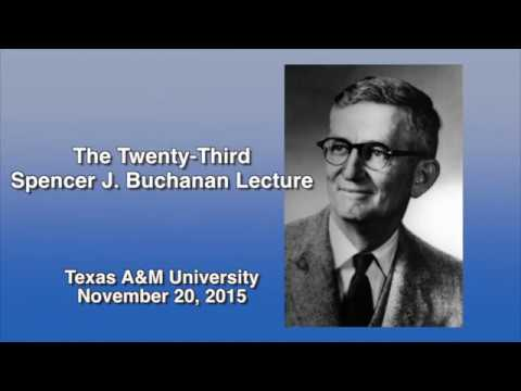 Katrina In Your Rearview Mirror: 2015 Buchanan Lecture