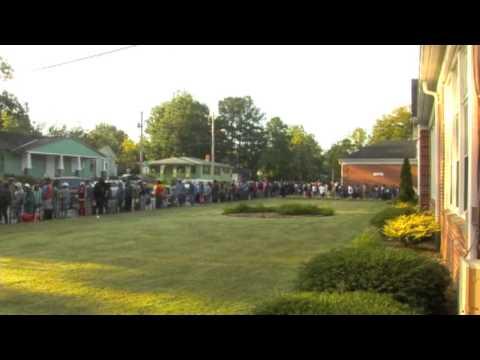 Wilson OIC Food Distribution & Free Health Screening 9-25-2013