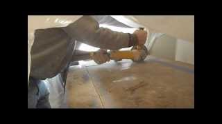How to cut granite, indoor , no dust in the room
